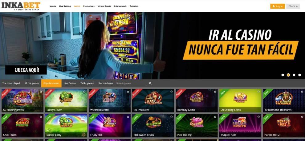 Inkabet Casino Review